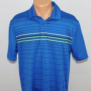Under Armour Heatgear short sleeve polo shirt. M